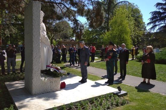 В Белграде почтили память погибших в Великой Отечественной войне