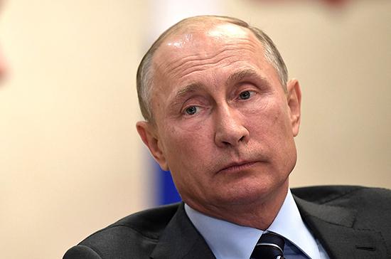 Путин заявил об истечении периода нерабочих дней