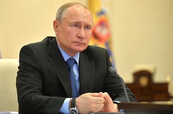 Путин 11 мая выступит с обращением к россиянам