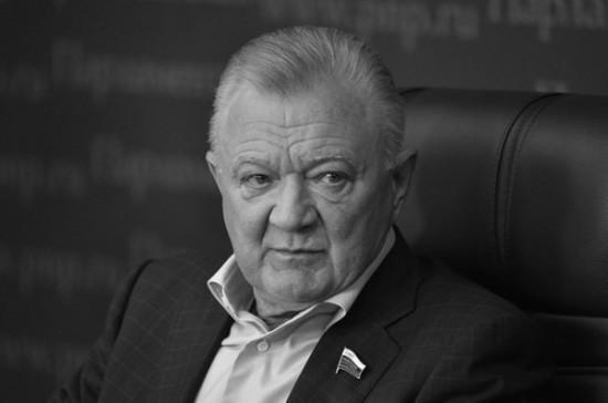В Совете Федерации выразили соболезнования в связи со смертью Олега Ковалева