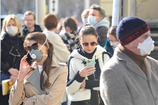 Коэффициент распространения COVID-19 в Москве второй день подряд меньше единицы