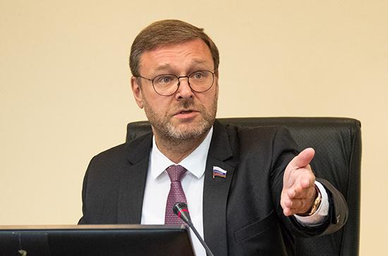 Косачев назвал вбросом проект резолюции конгресса о правах человека в России