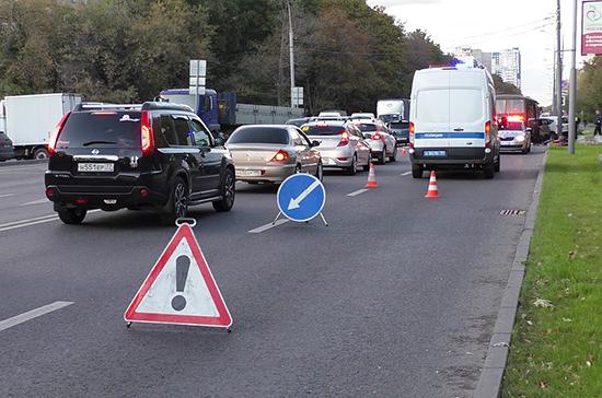 В апреле число ДТП на российских дорогах сократилось на 43,4%