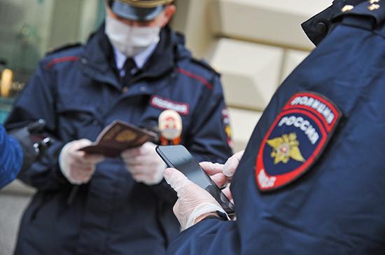 Полиции могут дать право досматривать граждан для пресечения краж
