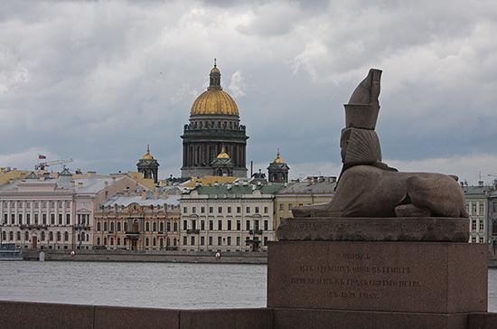 Жителей Санкт-Петербурга предупредили о сильных дождях