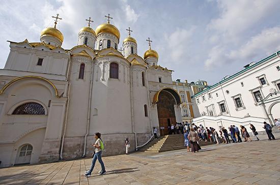 Благовещенский собор Кремля построили за пять лет
