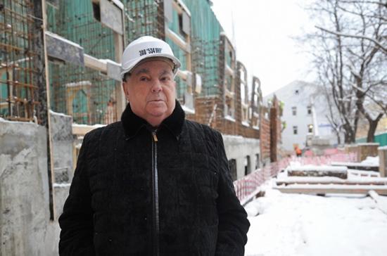 Владимир Ресин признался «Парламентской газете», что мечтал строить метро