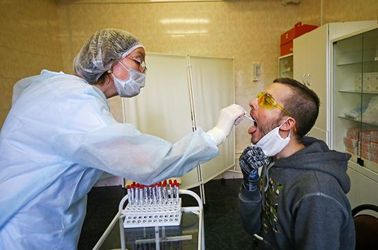 Россия нарастит объемы тестирования населения на коронавирус