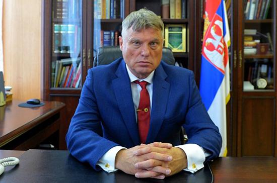 Посол Сербии в РФ высоко оценил российскую помощь в борьбе с COVID-19