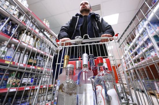 В Минздраве поддержали идею Совфеда о повышении возраста продажи алкоголя