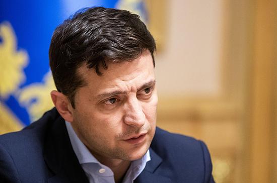 Зеленский заявил о необходимости расследовать скандал вокруг «плёнок Порошенко и Байдена»