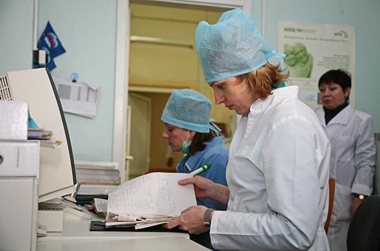 Совфед предлагает упростить в условиях ЧС прием на работу медиков