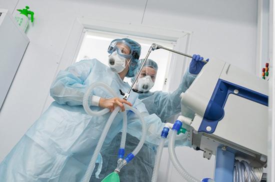 В стационарах России находятся 99 558 пациентов с COVID-19