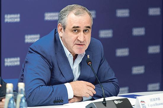Неверов назвал помощь гражданам главной задачей