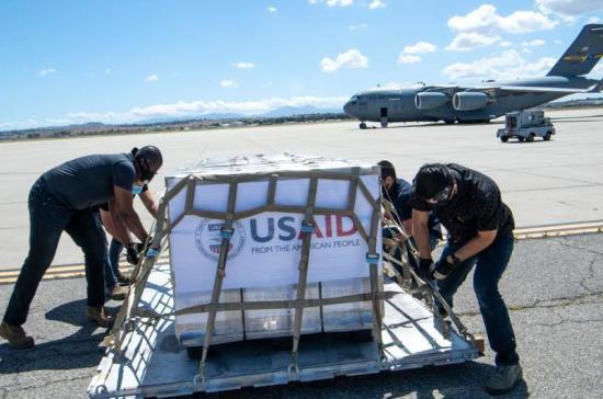 США отправят в Россию еще 150 аппаратов ИВЛ