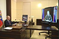 Президент оценил работу Минобороны по борьбе с коронавирусом