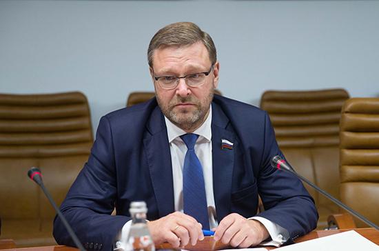 Косачев: угроза санкций США говорит обуверенности, что Россия достроит «Северный поток— 2»