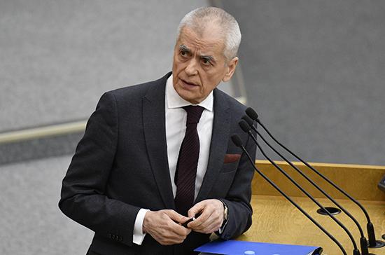Онищенко оценил идею штрафовать за отказ от вакцинации