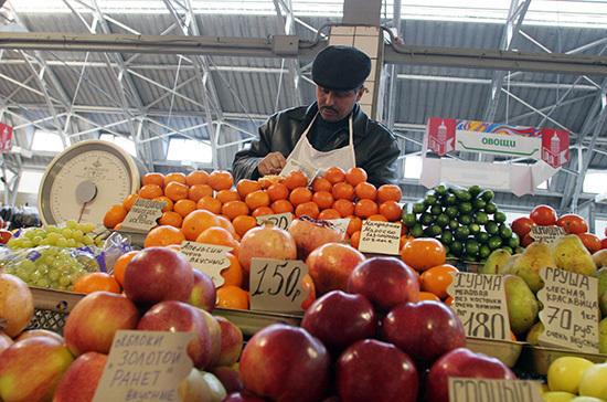 Минпромторг разработал поправки, упрощающие торговлю на рынках