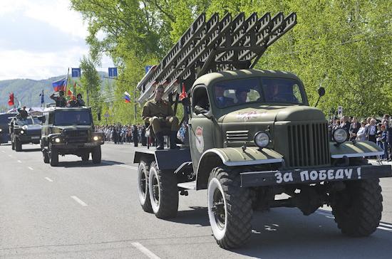 В Параде Победы в Севастополе примут участие «Андрюша», «Катюша» и «Иосиф Сталин»