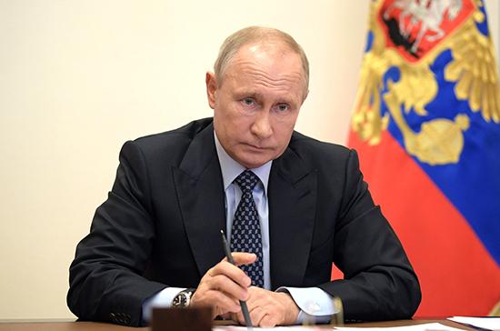 Перед голосованием по Конституции нужно выдержать период в 30 дней, считает Путин