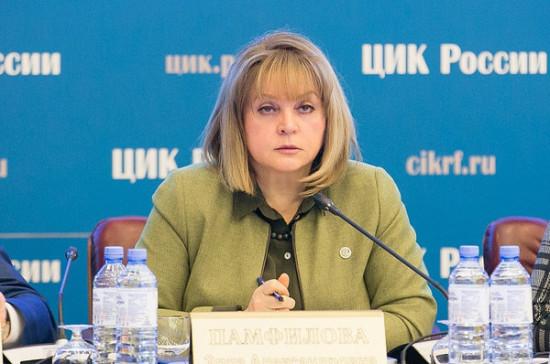 Памфилова рассказала о порядке голосования за Конституцию на придомовых территориях
