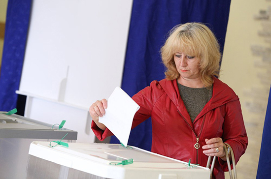 В ЦИК представили образец бюллетеня для голосования по поправкам в Конституцию