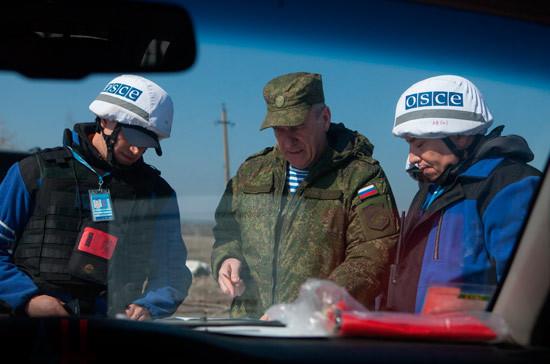 Министерство внутренних дел намерено увеличить присутствие в миссиях ОБСЕ
