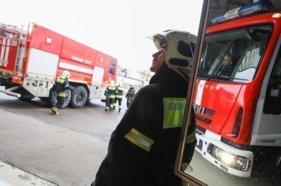 Один человек погиб при пожаре в Боткинской больнице