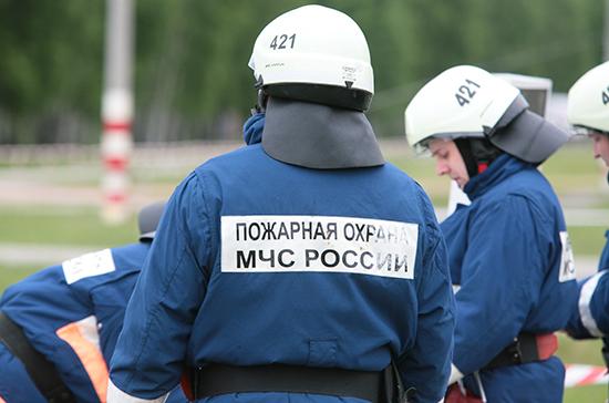 В инфекционной больнице в Петербурге произошел пожар