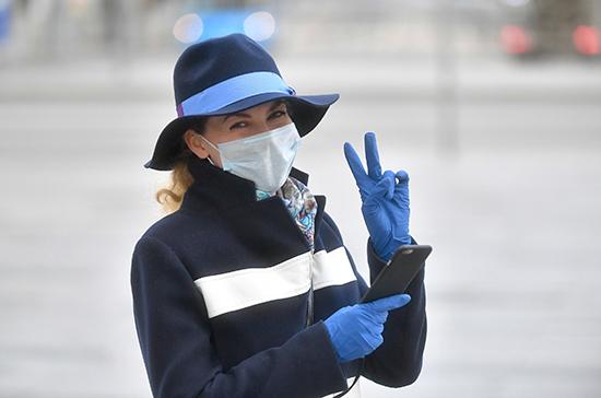В Роспотребнадзоре рассказали о безопасности прогулок и занятий спортом в масках