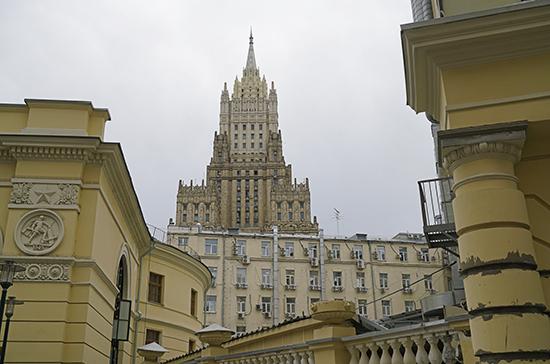 В МИД ответили на заявления Госдепа о роли России на Ближнем Востоке