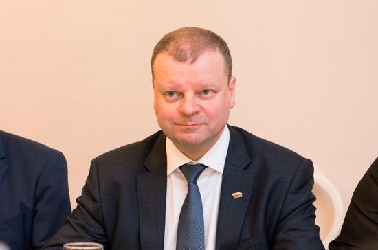 Премьер-министр Литвы будет снова баллотироваться в сейм в списке Союза крестьян и «зелёных»