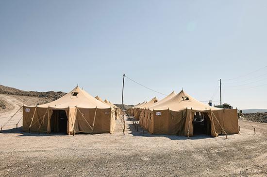 В Чите развернули военный госпиталь для борьбы с коронавирусом