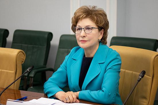 Карелова: деятельность соцработников содействует устойчивому развитию общества