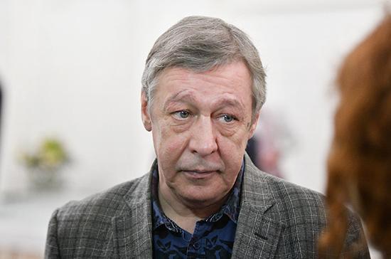 Михаил Ефремов признал свою вину после ДТП
