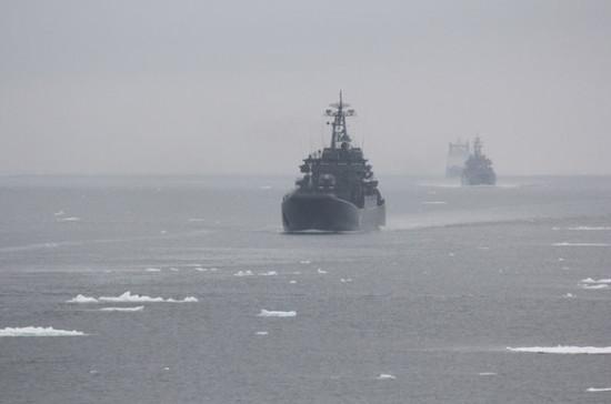 В России могут ужесточить правила захода кораблей в свои территориальные воды