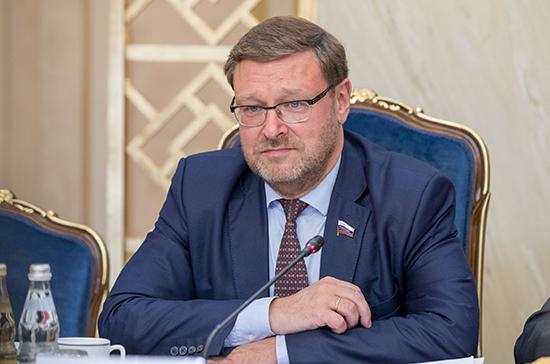 Косачев ответил на условие Зеленского для общения народов двух стран