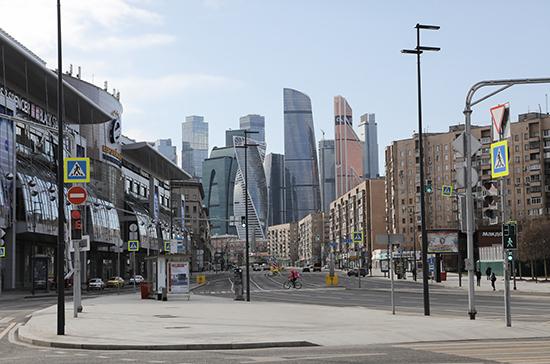 Москва успешно прошла период распространения коронавируса, заявили в кабмине