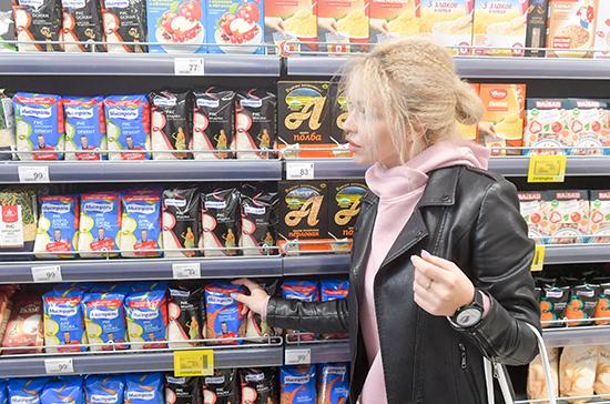 России удалось избежать роста цен на продукты, заявил Мантуров