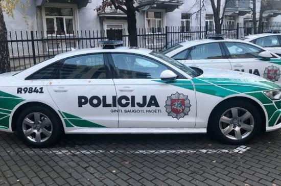 После акции в поддержку протестов в США литовская полиция начала досудебное расследование