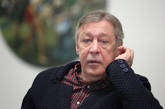 Михаила Ефремова допросят по делу о сбыте наркотиков