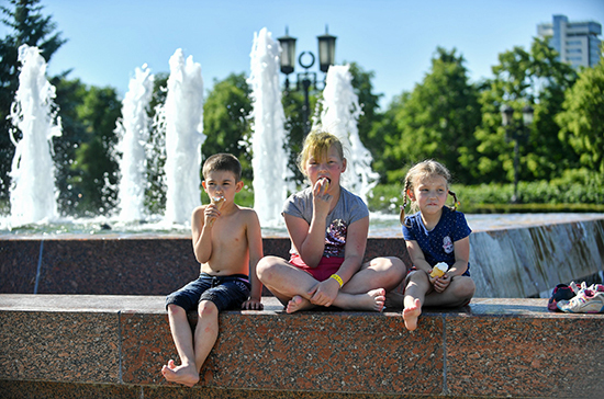 В Москве установится по-июльски жаркая погода