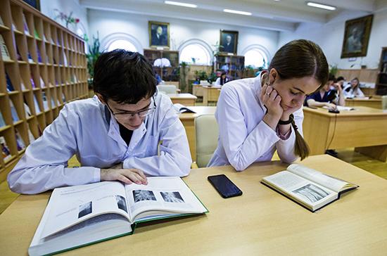 В Минобрнауки ожидают особый интерес абитуриентов к медицинским специальностям