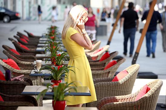 В Москве откроются летние веранды кафе и ресторанов