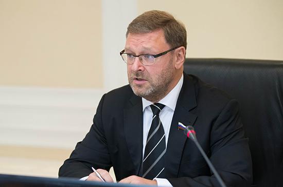 Косачев: «Северный поток — 2» достроят, если Евросоюз будет защищать свои интересы