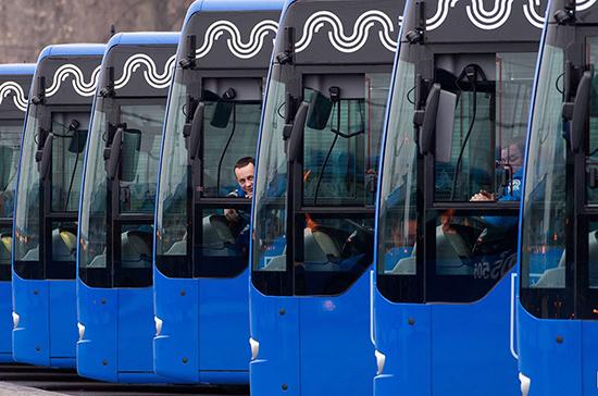 Подмосковные автобусы хотят перекрасить в один цвет