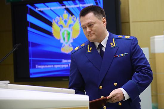 Краснов: в России выросло число коррупционных правонарушений