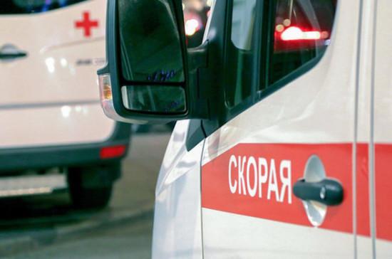 На пешеходном переходе в Петербурге машина сбила шестерых человек