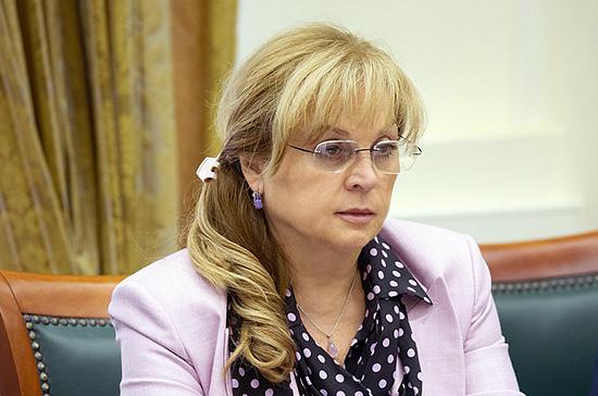 Памфилова предлагает продлить сроки набора наблюдателей на голосование по Конституции